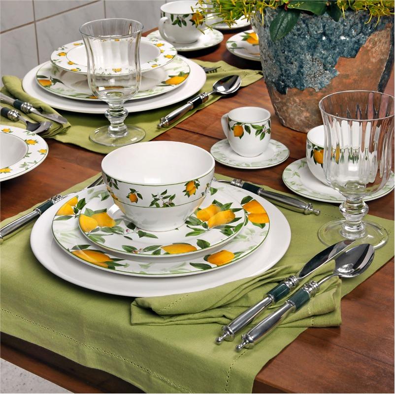 Sicília - Aparelho de Jantar 42 Peças (6 Pessoas)