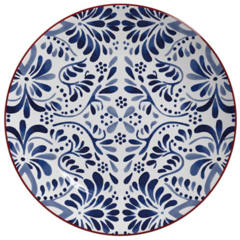 Sousplat Aquarelle Azul (6 Unidades)