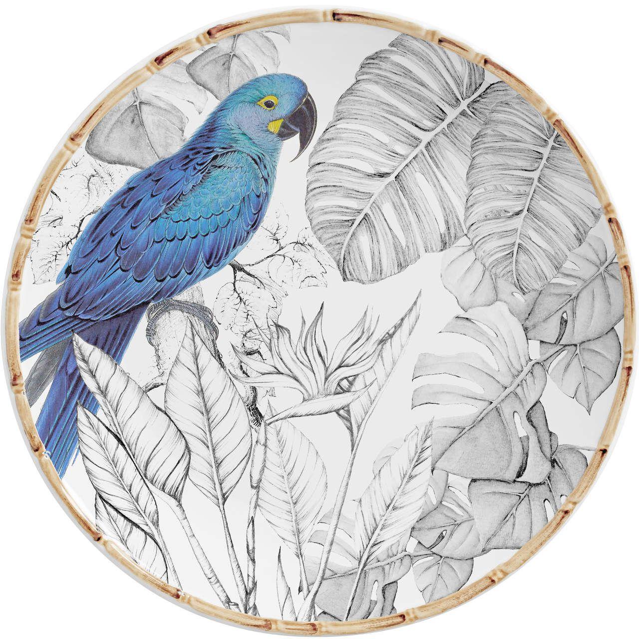 Sousplat Colorfull Birds (06 Unidades) Cód.: 7810 - MB