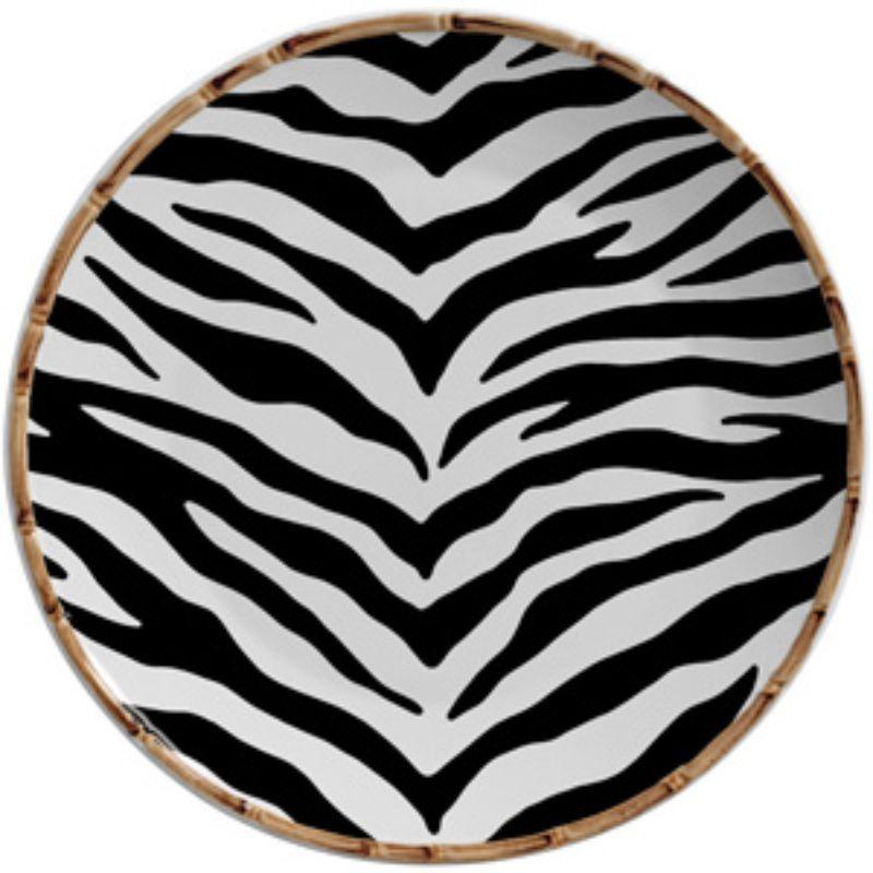 Sousplat Forest Estampa Zebra (06 Unidades) - MB