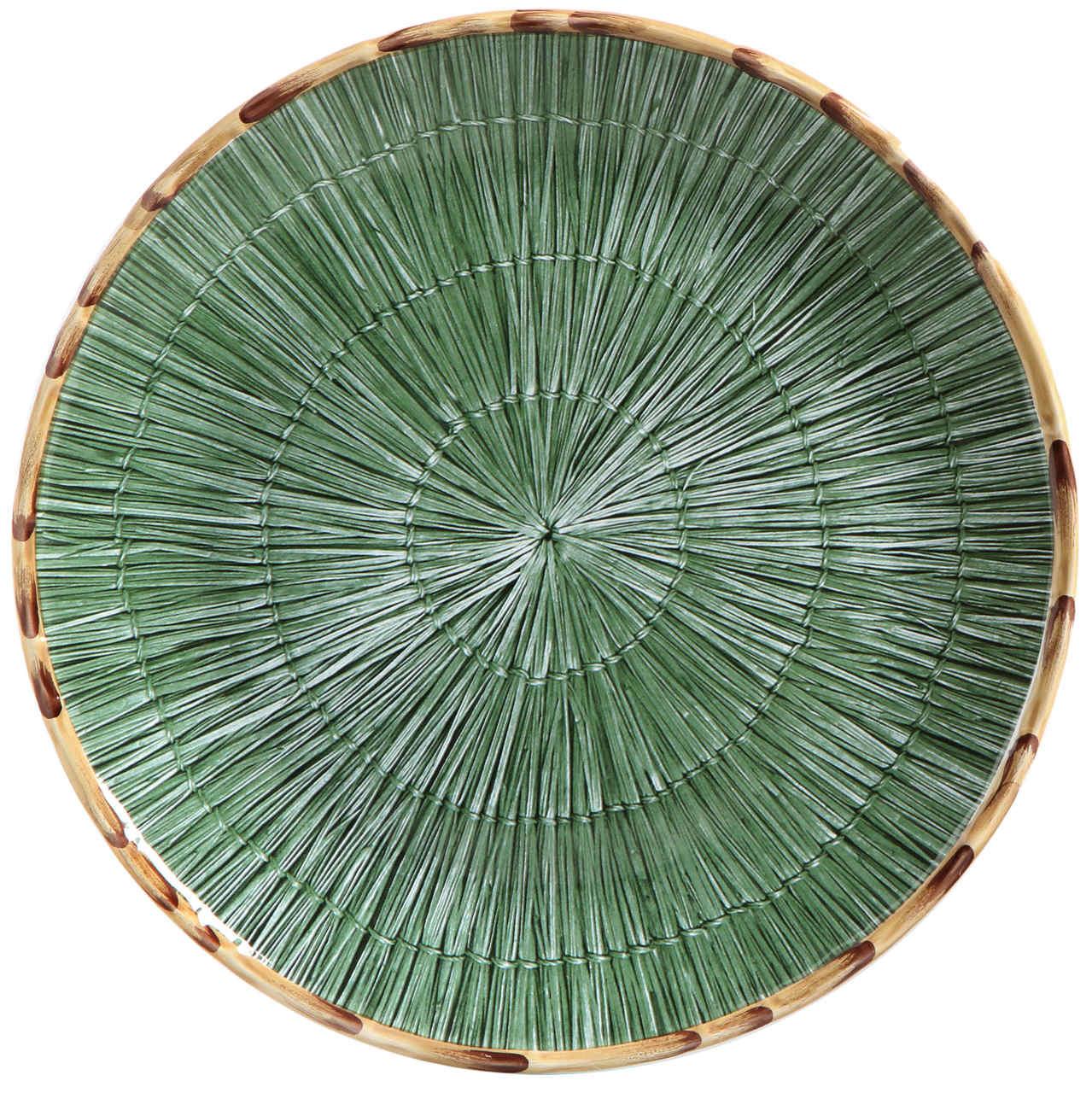 Sousplat Palha Verde (06 Unidades) - MB
