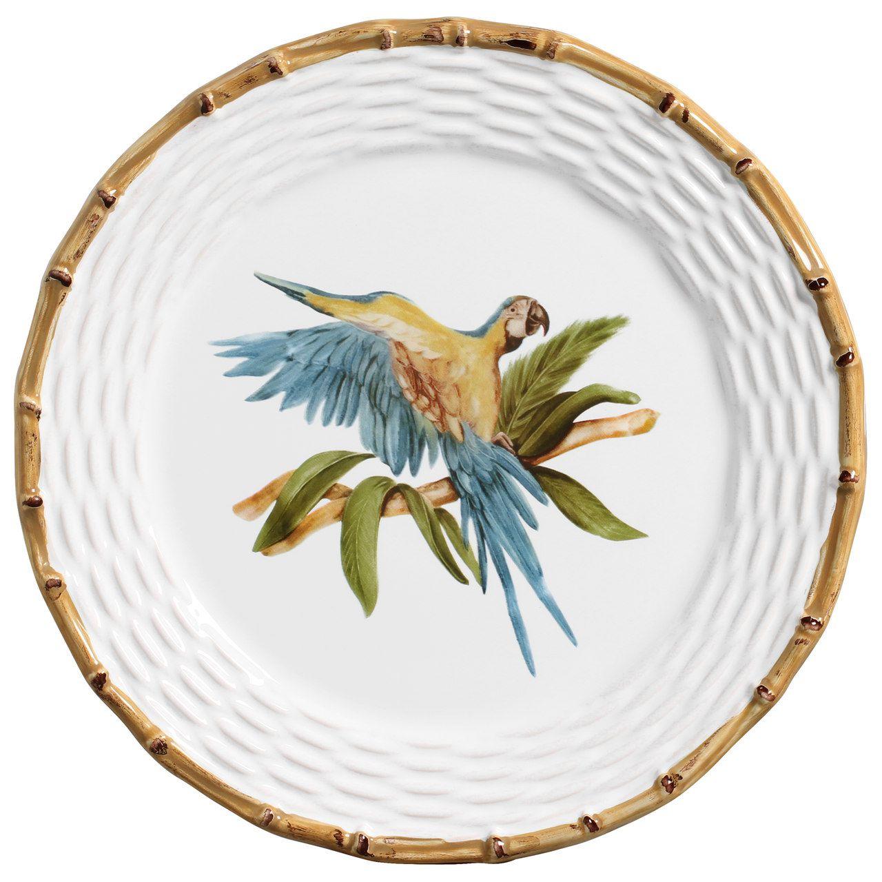 Sousplat Tropical Birds (06 Unidades) Cód.: 6058 - MB