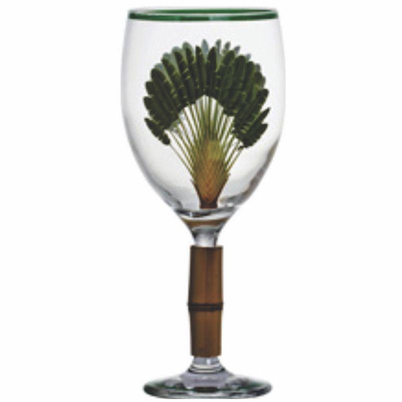Taça de Água c/ Bambu Aves do Brasil (6 Unidades)