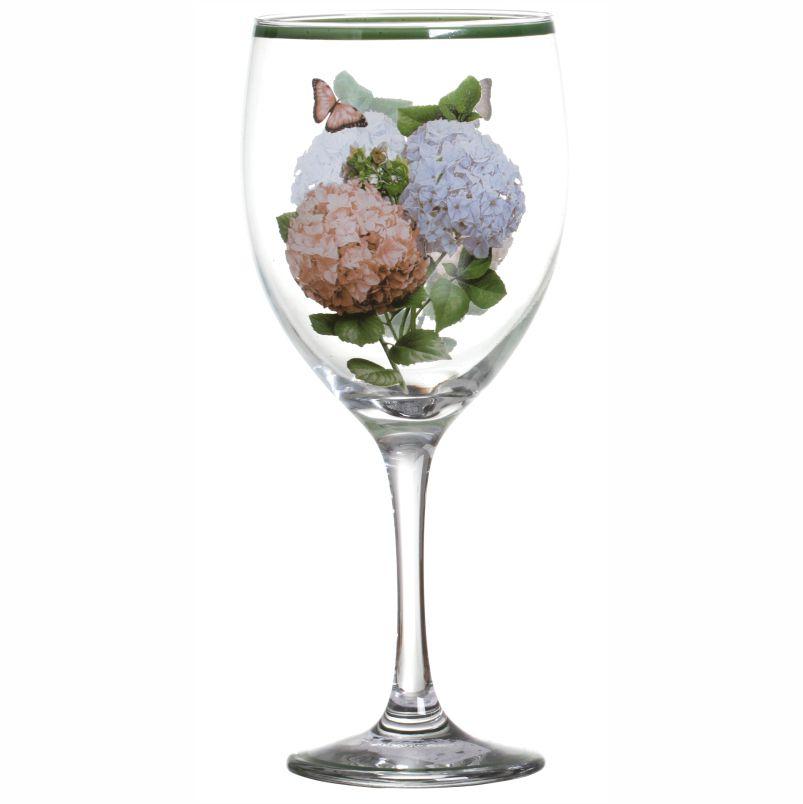 Taça de Água Hortênsias (06 Unidades) - MB