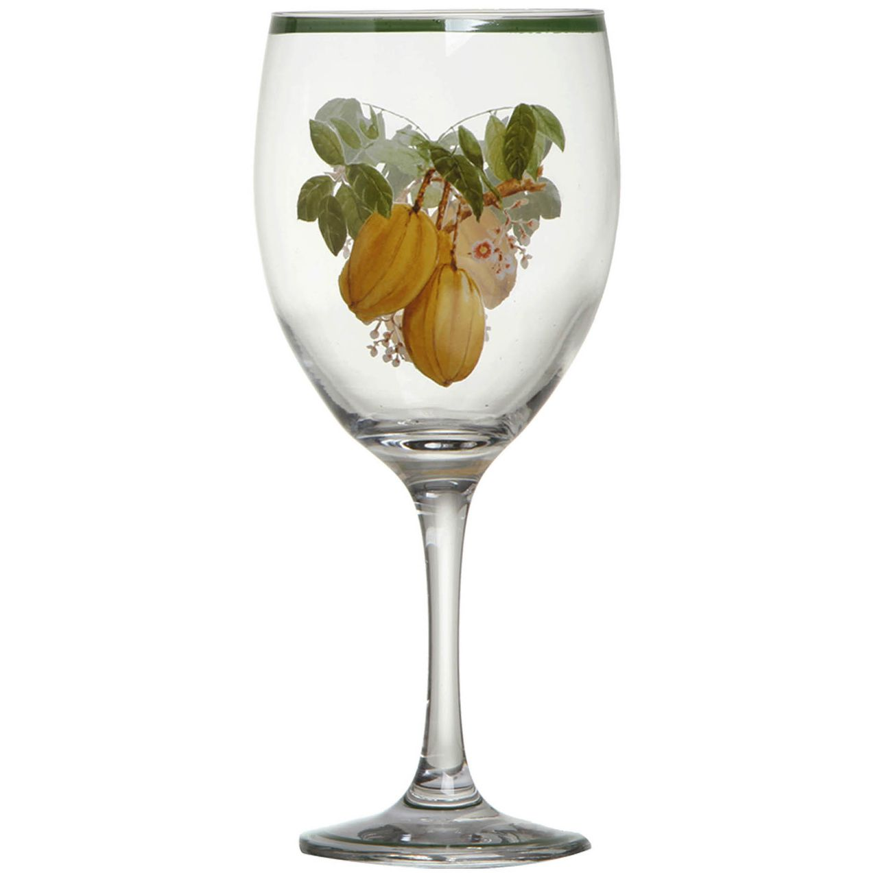 Taça de Água Nostri Frutti Carambola (06 Unidades) Cód.: 3853 - MB