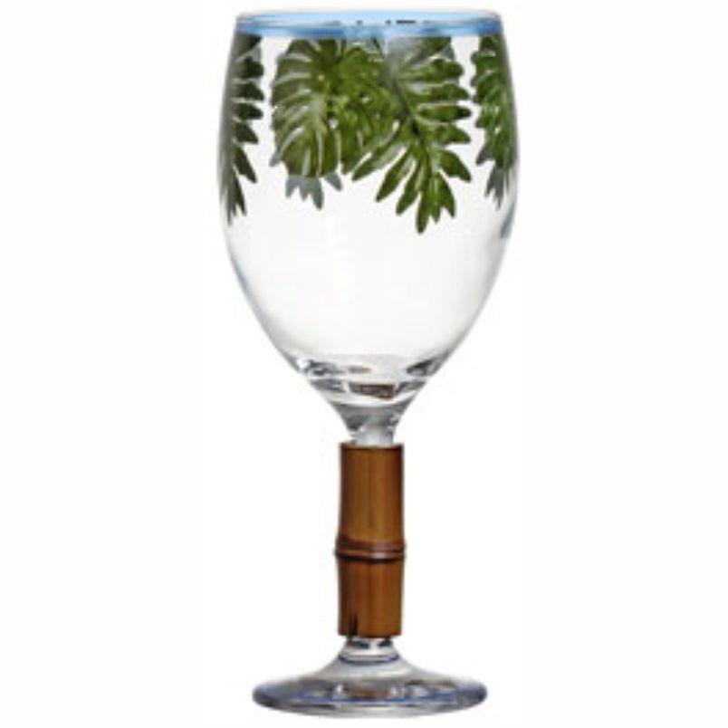 Taça de Água Saint Tropez com Bambu (06 Unidades)