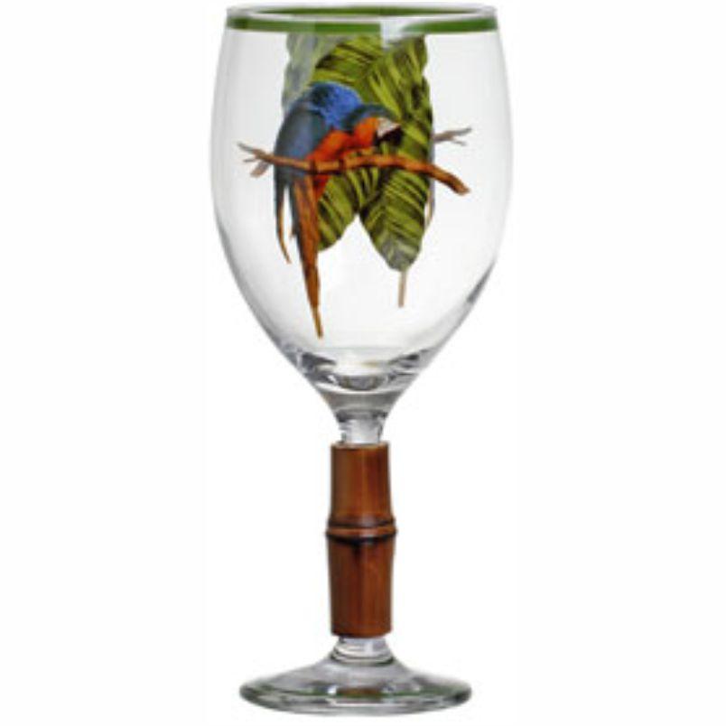 Taça de Água Tropicalha com Bambu (06 Unidades)