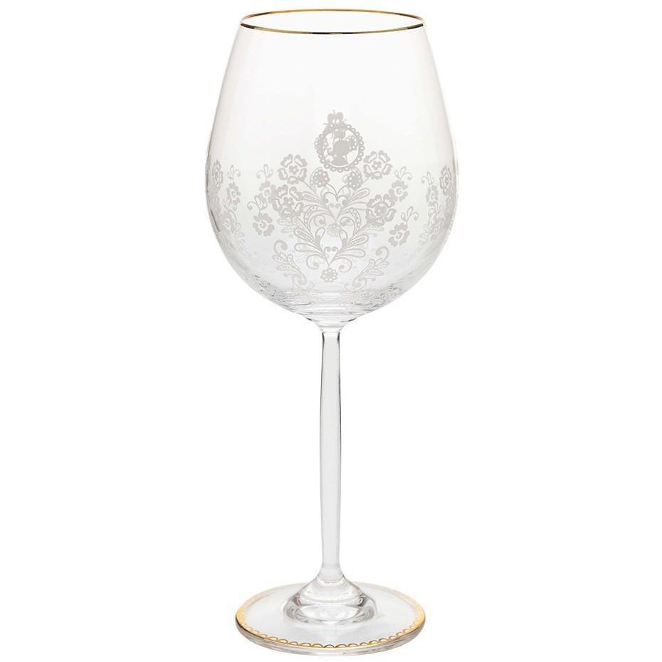 Taça de Vinho - Floral