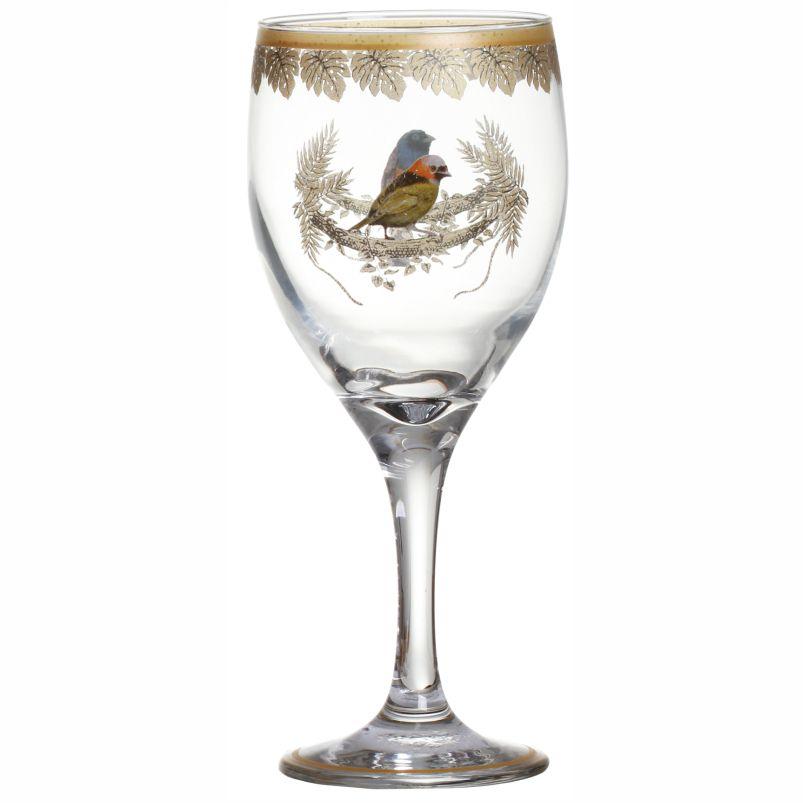 Taça de Vinho Golden Forest (06 Unidades) Cód.: 3556 - MB