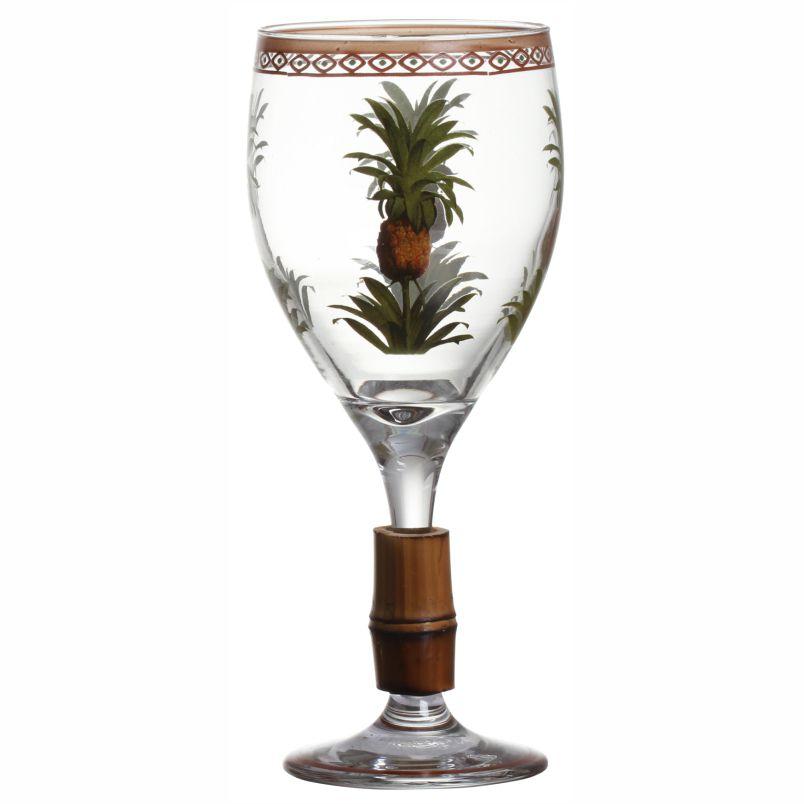 Taça de Vinho Kenya com Bambu (06 Unidades) - MB