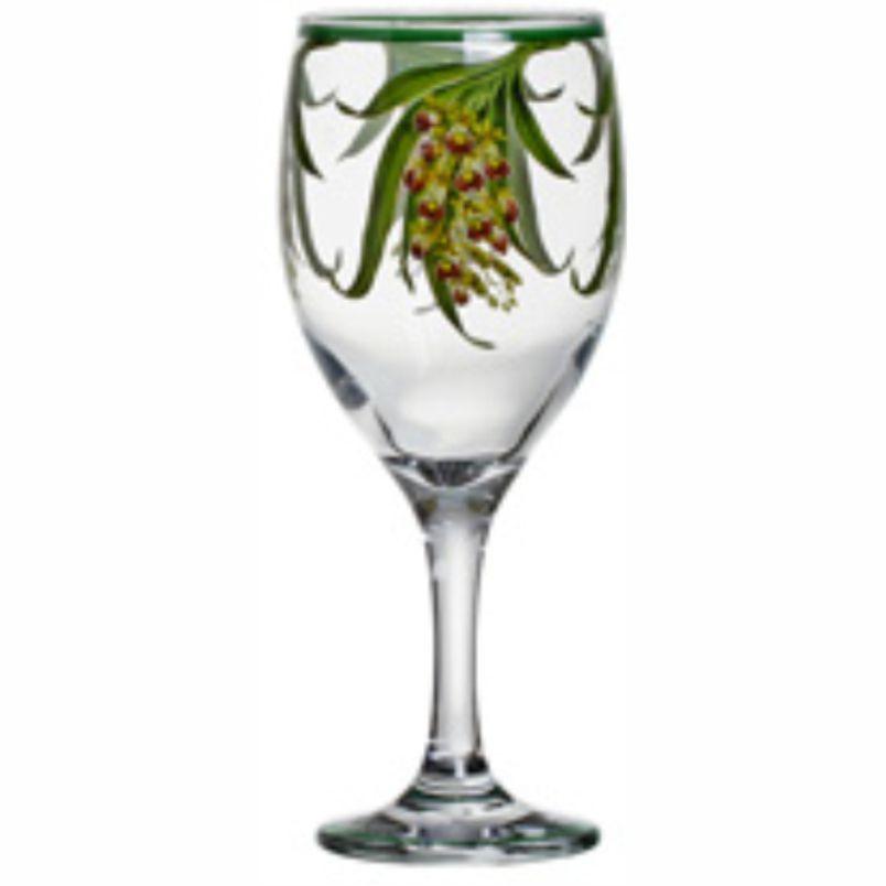 Taça de Vinho Orquídeas (06 Unidades)