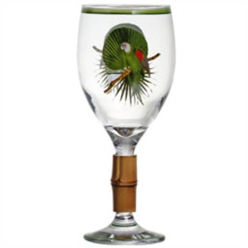 Taça de Vinho Tropicalha com Bambu (6 Unidades)