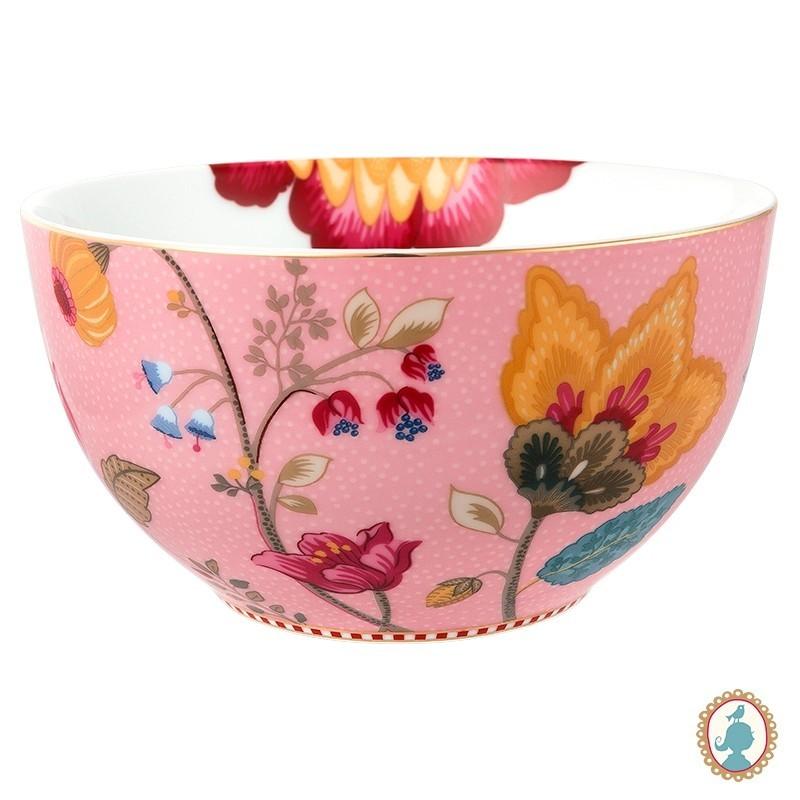 Tigela 15 Rosa - Floral Fantasy