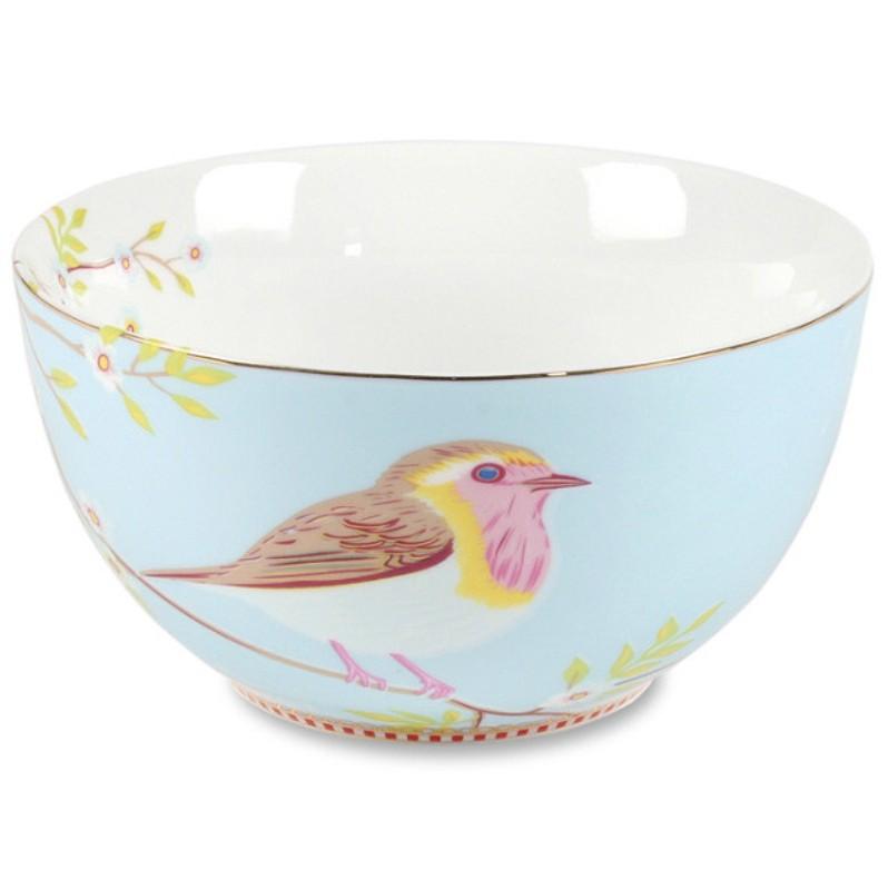 Tigela 15 Early Bird Azul Floral - Pip Studio