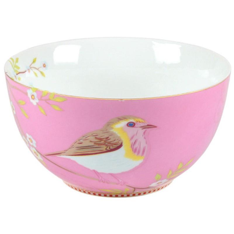 Tigela 15 Early Bird Rosa Floral - Pip Studio