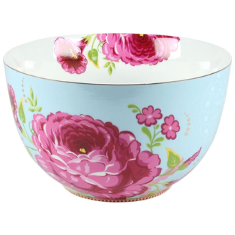 Tigela 23cm Azul Floral Pip Studio