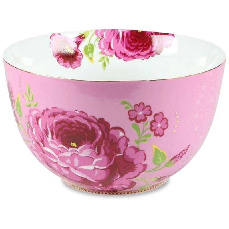 Tigela 23cm Rosa Floral Pip Studio