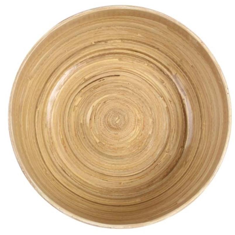 Tigela Madeira Branca 11x30cm - Cód. 4803