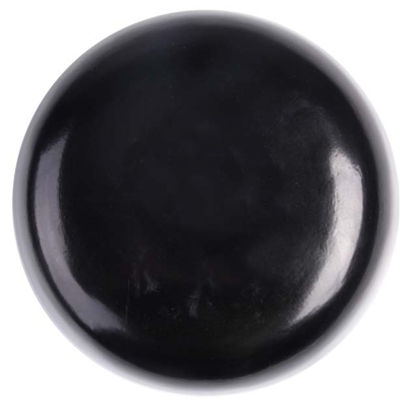 Tigela Madeira Preta 9x20cm - Cód. 4808
