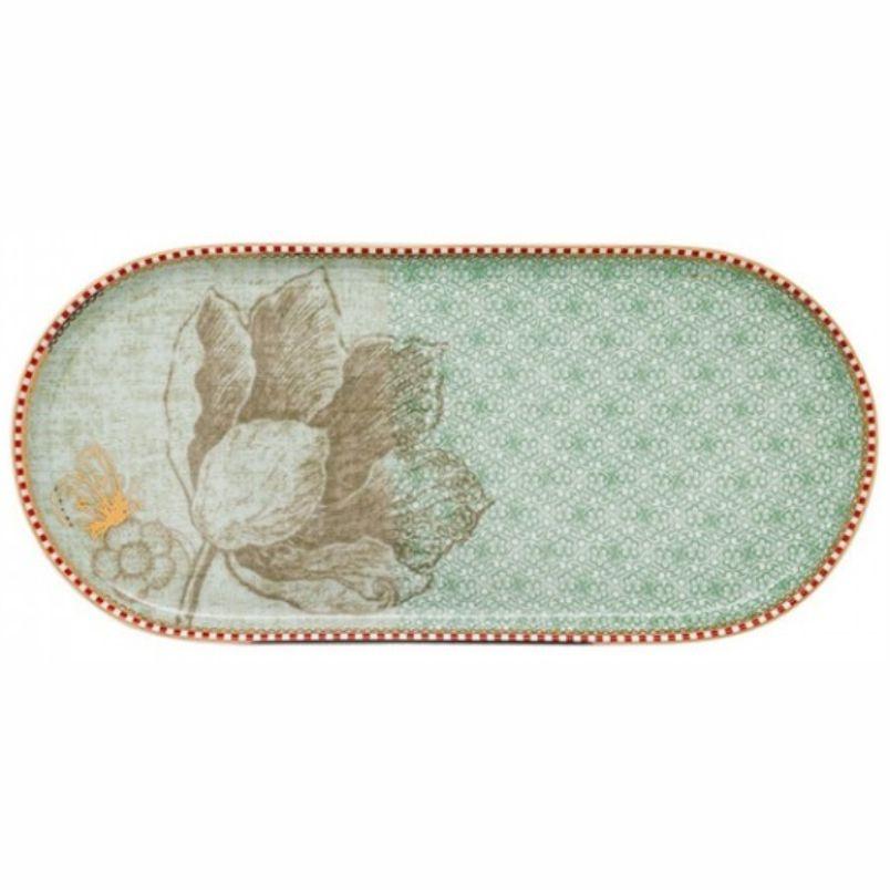 Travessa p/ Banheiro Verde Celadon - Spring to Life