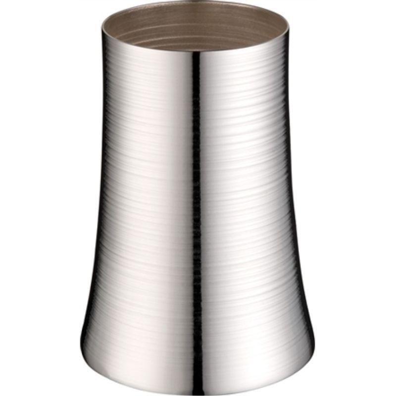 Vaso Baixo Spin Prata - Cód: 2311 - SJ
