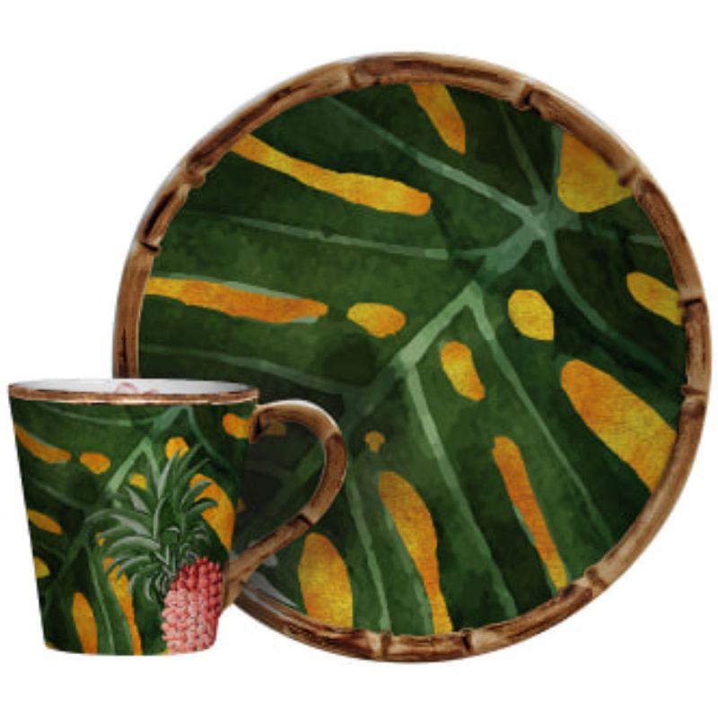 Xícara de Café C/ Pires Tucano (6 Unidades)