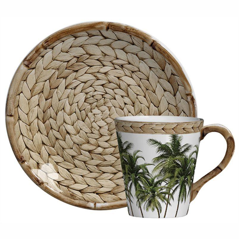 Xícara de Chá c/ Pires Trancoso (6 Unidades)