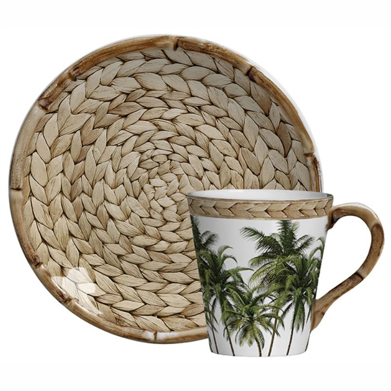 Xícara de Chá c/ Pires Trancoso (06 Unidades) - MB