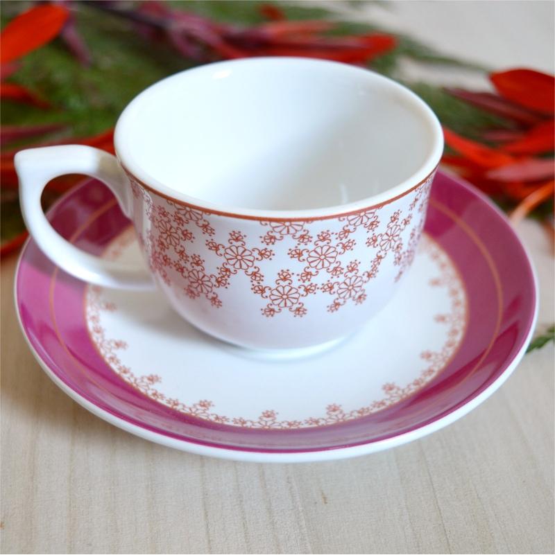 Xícara de Café de Porcelana Dama de Honra 100ml (6 und)