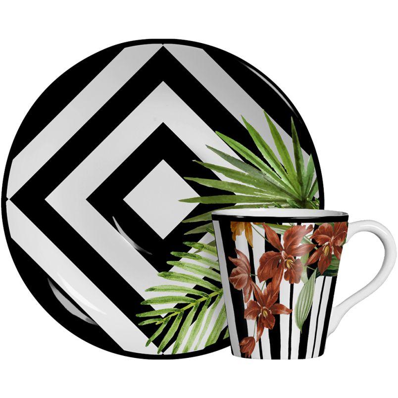 Xícara p/ Café Tropicalha (6 Unidades) - Cód.: 265.5830 - SC