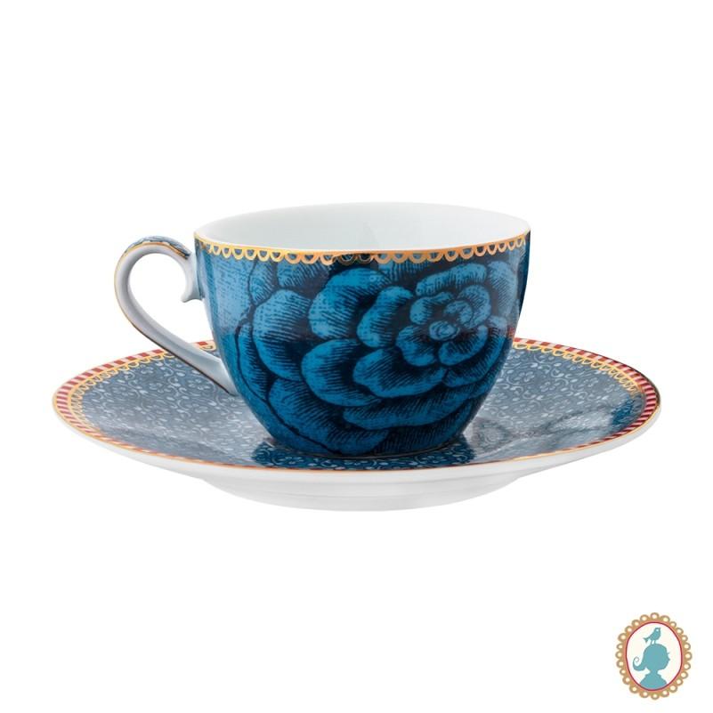Xícara de Cafezinho 80ml Azul - Spring to Life