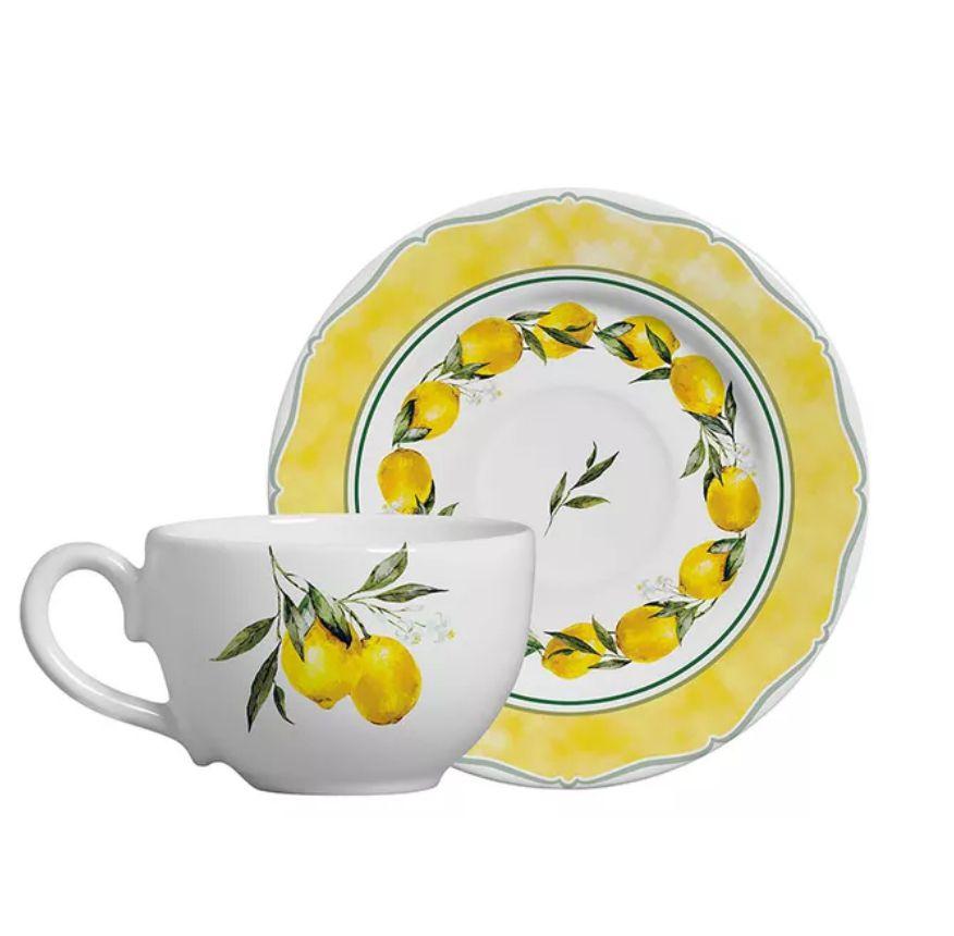 Xícara p/ Chá Citron (6 Unidades)