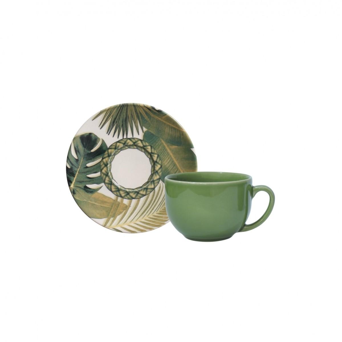 Xícara p/ Chá Foliage (6 Unidades)
