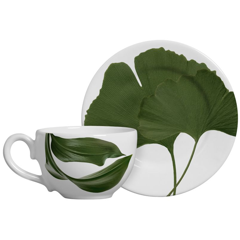 Xícara p/ Chá Leaves Concept (06 Unidades)