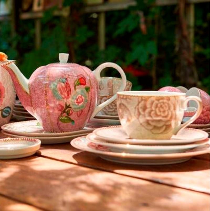 Xícara de Chá Off White - Spring to Life
