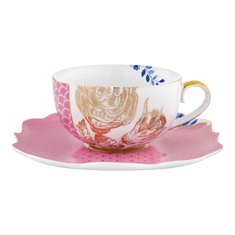 Xícara de Chá Rosa - Royal - Cód.: 51004069
