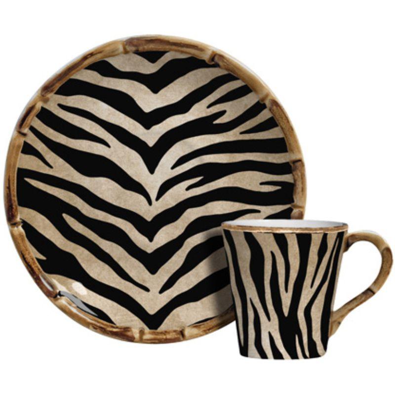 Xícara p/ Café Zebra (06 Unidades)