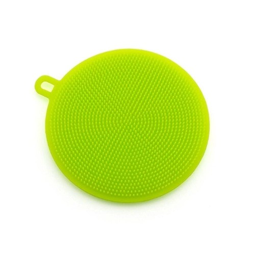 Esponja Silicone Multi-uso Verde
