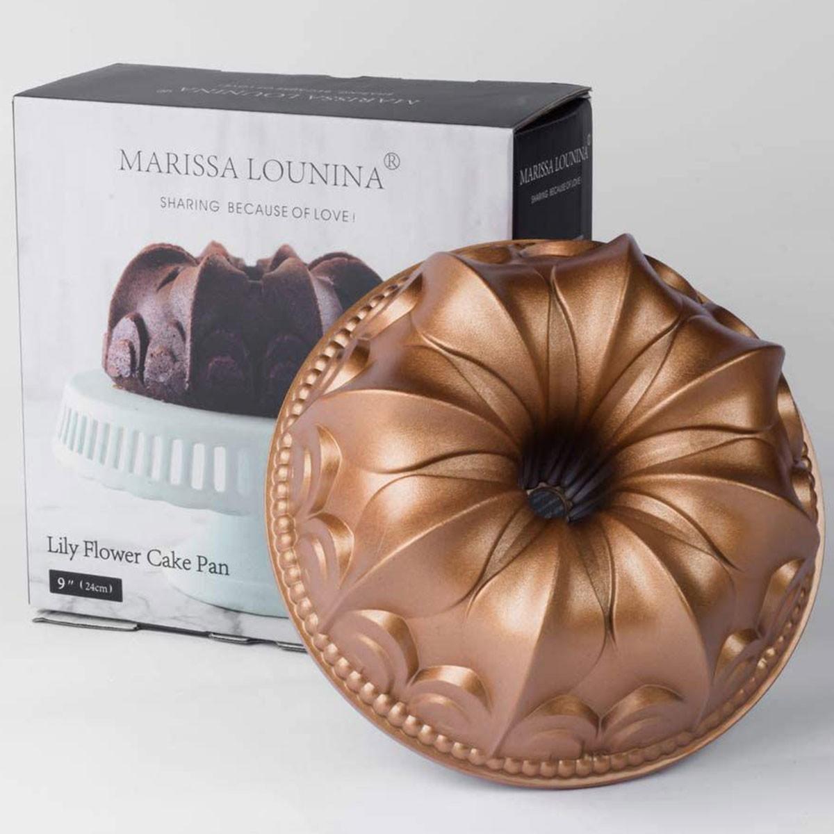 Forma Marissa Lounina Lily Flower Cake Pan