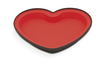 Forma Silicone Bicolor Coração