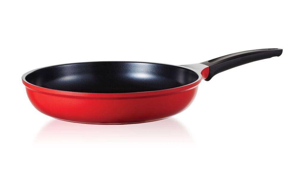 Frigideira Cerâmica 30cm Vermelha