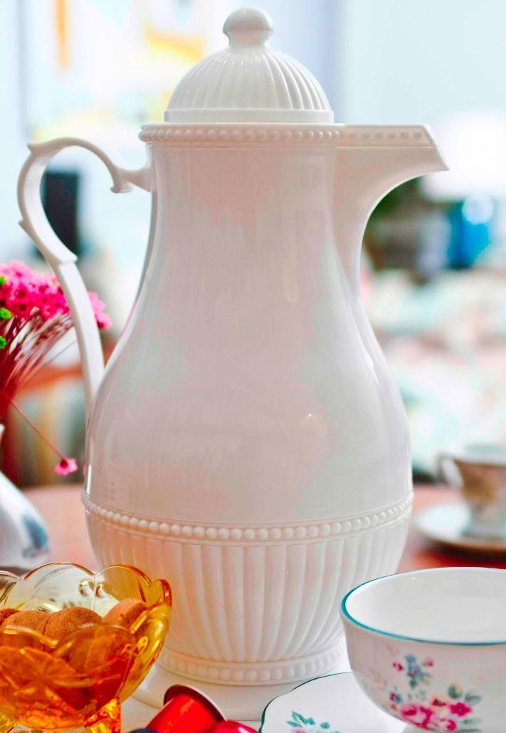 Garrafa Térmica Rice Branca 1L