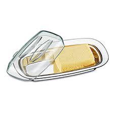 Manteigueira com tampa acrílica Brinox