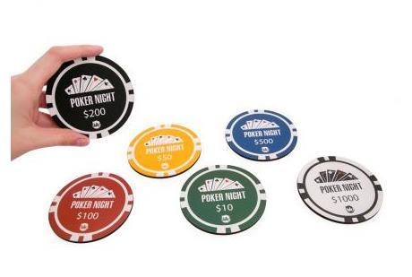 Porta Copo Poker