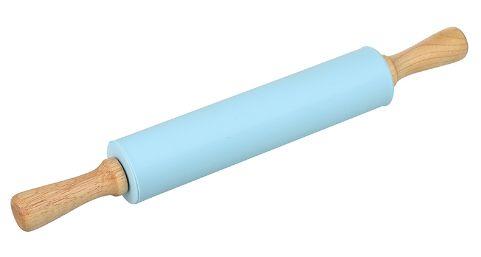 Rolo para massa em Silicone Azul HAUSKRAFT