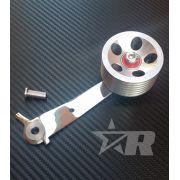 Pedal Acelerador Roller Alumínio Billet Roletado - MODELO VINTAGE