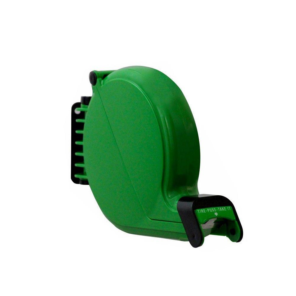 Dispensador manual de senhas bico de pato verde