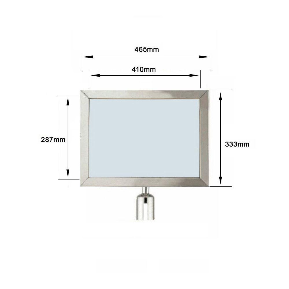 Display para Separador de Filas A4 Horizontal