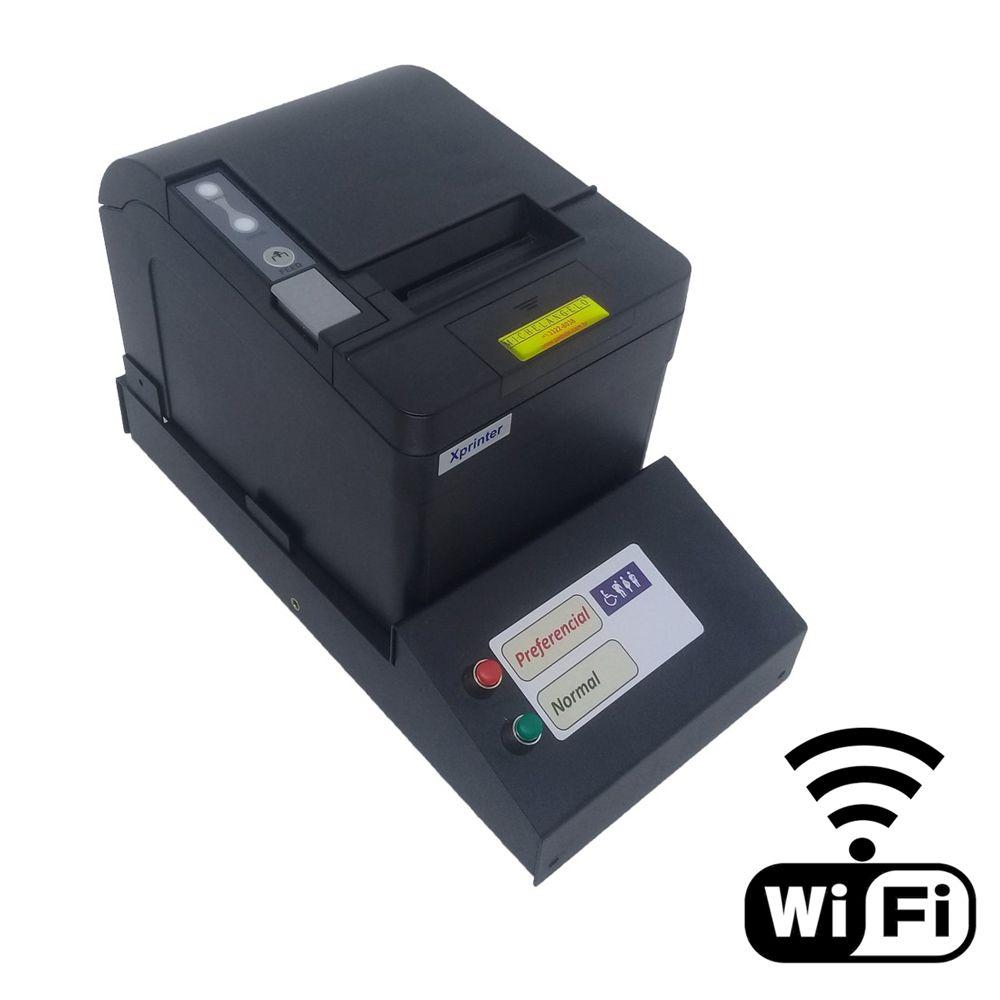 Kit Senha e Guichê II Wi-Fi