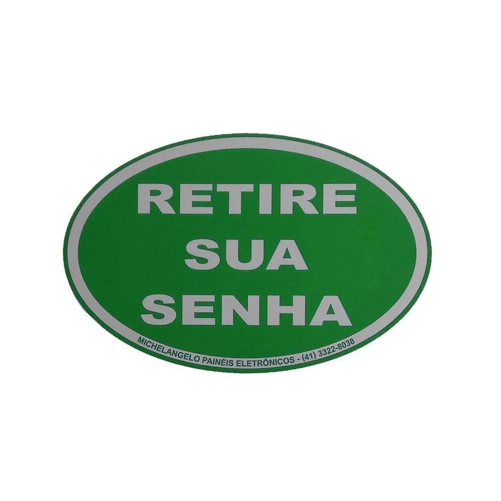 Kit Senha Preferencial - Painel de Senha Duplo + 2 Dispensadores Manual de Senhas + Acessórios